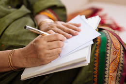 Mailing Letters and Bills Heading Image